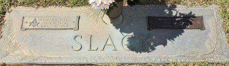 SLACK, LEONARD L - Webster County, Louisiana | LEONARD L SLACK - Louisiana Gravestone Photos