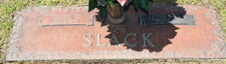 SLACK, RILEY R (CLOSE UP) - Webster County, Louisiana   RILEY R (CLOSE UP) SLACK - Louisiana Gravestone Photos