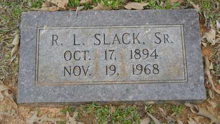 SLACK, R L., SR - Webster County, Louisiana   R L., SR SLACK - Louisiana Gravestone Photos
