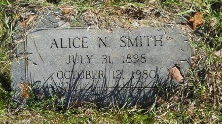 SMITH, ALICE N - Webster County, Louisiana | ALICE N SMITH - Louisiana Gravestone Photos