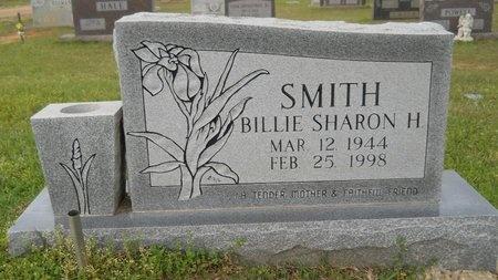 SMITH, BILLIE SHARON H - Webster County, Louisiana | BILLIE SHARON H SMITH - Louisiana Gravestone Photos