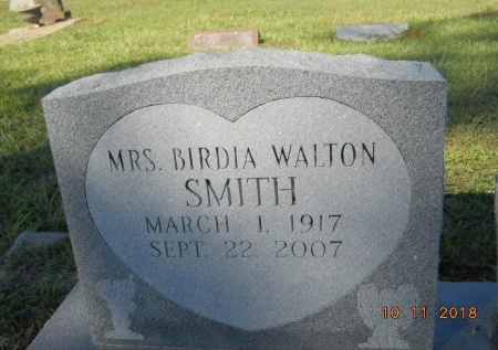 SMITH, BIRDIA - Webster County, Louisiana   BIRDIA SMITH - Louisiana Gravestone Photos