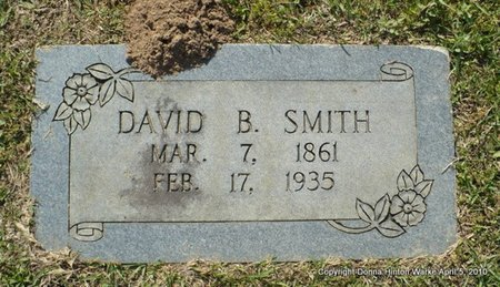 SMITH, DAVID B - Webster County, Louisiana   DAVID B SMITH - Louisiana Gravestone Photos