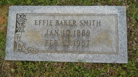 SMITH, EFFIE - Webster County, Louisiana | EFFIE SMITH - Louisiana Gravestone Photos