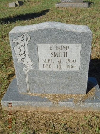 SMITH, E BOYD - Webster County, Louisiana | E BOYD SMITH - Louisiana Gravestone Photos