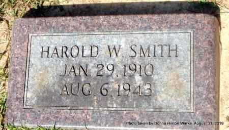 SMITH, HAROLD W - Webster County, Louisiana   HAROLD W SMITH - Louisiana Gravestone Photos