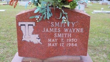 "SMITH, JAMES WAYNE ""SMITTY"" (CLOSE UP) - Webster County, Louisiana | JAMES WAYNE ""SMITTY"" (CLOSE UP) SMITH - Louisiana Gravestone Photos"