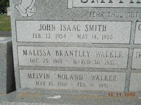 "WALKER, MELVIN ""NOLAND"" (CLOSE UP) - Webster County, Louisiana | MELVIN ""NOLAND"" (CLOSE UP) WALKER - Louisiana Gravestone Photos"