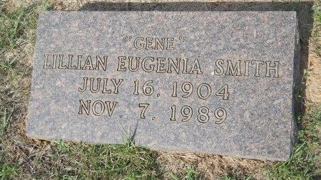 "SMITH, LILLIAN EUGENIA ""GENE"" - Webster County, Louisiana | LILLIAN EUGENIA ""GENE"" SMITH - Louisiana Gravestone Photos"