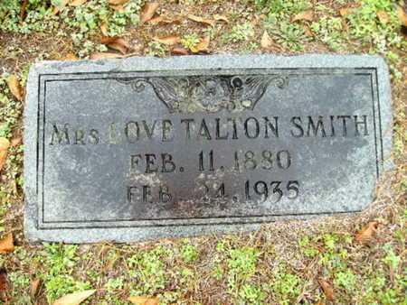 SMITH, LOVE - Webster County, Louisiana | LOVE SMITH - Louisiana Gravestone Photos