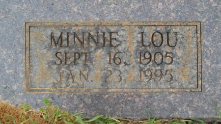 SMITH, MINNIE LOU (CLOSE UP) - Webster County, Louisiana | MINNIE LOU (CLOSE UP) SMITH - Louisiana Gravestone Photos