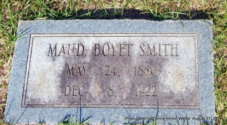 SMITH, MAUD W - Webster County, Louisiana | MAUD W SMITH - Louisiana Gravestone Photos