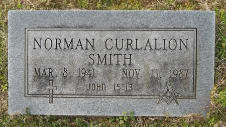 SMITH, NORMAN CURLALION - Webster County, Louisiana | NORMAN CURLALION SMITH - Louisiana Gravestone Photos