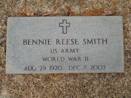 SMITH, BENNIE REESE (VETERAN WWII) - Webster County, Louisiana   BENNIE REESE (VETERAN WWII) SMITH - Louisiana Gravestone Photos