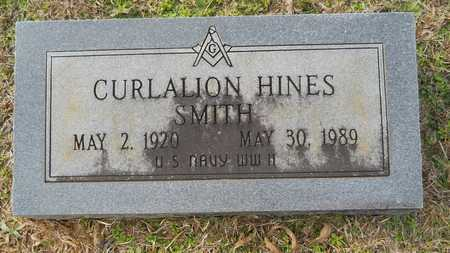 SMITH, CURLALION HINES (VETERAN WWII) - Webster County, Louisiana   CURLALION HINES (VETERAN WWII) SMITH - Louisiana Gravestone Photos