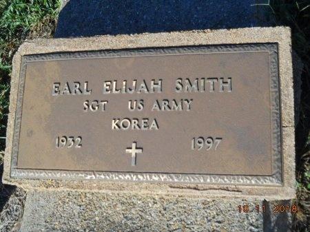 SMITH , EARL ELIJAH  (VETERAN KOR) - Webster County, Louisiana   EARL ELIJAH  (VETERAN KOR) SMITH  - Louisiana Gravestone Photos