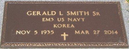 SMITH, GERALD L, SR (VETERAN KOR) - Webster County, Louisiana | GERALD L, SR (VETERAN KOR) SMITH - Louisiana Gravestone Photos
