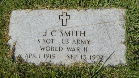 SMITH, J C (VETERAN WWII) - Webster County, Louisiana | J C (VETERAN WWII) SMITH - Louisiana Gravestone Photos