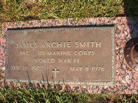 SMITH, JAMES ARCHIE (VETERAN WWII) - Webster County, Louisiana | JAMES ARCHIE (VETERAN WWII) SMITH - Louisiana Gravestone Photos