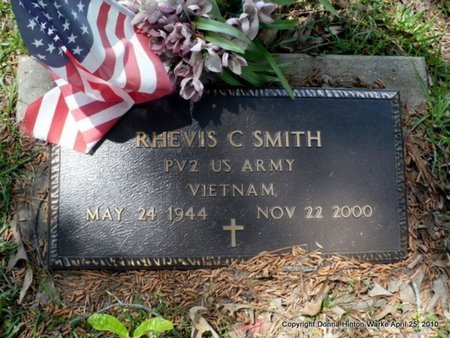 SMITH, RHEVIS C (VETERAN VIET) - Webster County, Louisiana | RHEVIS C (VETERAN VIET) SMITH - Louisiana Gravestone Photos