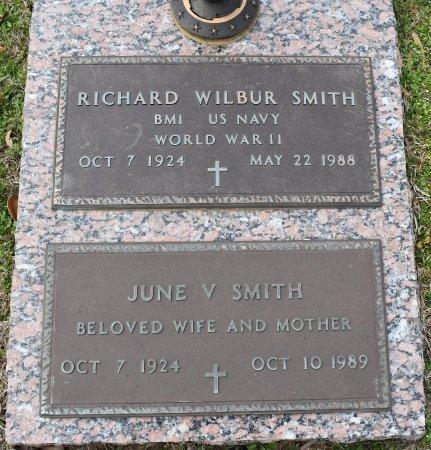 SMITH, JUNE V - Webster County, Louisiana | JUNE V SMITH - Louisiana Gravestone Photos