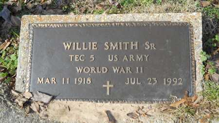 SMITH, WILLIE, SR (VETERAN WWII) - Webster County, Louisiana | WILLIE, SR (VETERAN WWII) SMITH - Louisiana Gravestone Photos