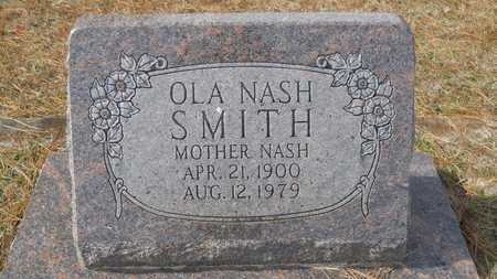 SMITH, OLA NASH - Webster County, Louisiana | OLA NASH SMITH - Louisiana Gravestone Photos