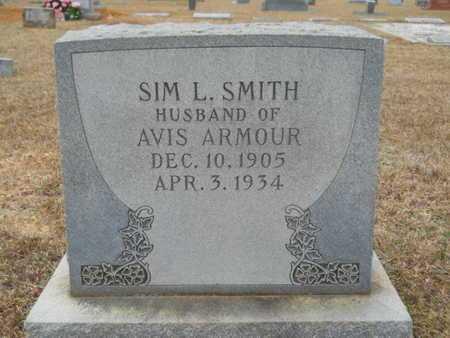 SMITH, SIM L - Webster County, Louisiana   SIM L SMITH - Louisiana Gravestone Photos