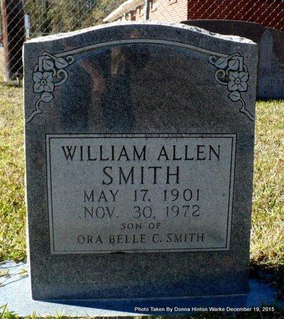 SMITH, WILLIAM ALLEN - Webster County, Louisiana | WILLIAM ALLEN SMITH - Louisiana Gravestone Photos