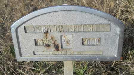 SPEECH, BERMICA - Webster County, Louisiana | BERMICA SPEECH - Louisiana Gravestone Photos