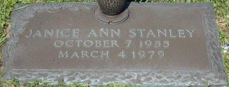 STANLEY, JANICE ANN - Webster County, Louisiana | JANICE ANN STANLEY - Louisiana Gravestone Photos