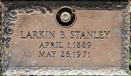 STANLEY, LARKIN B - Webster County, Louisiana | LARKIN B STANLEY - Louisiana Gravestone Photos