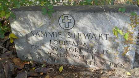 STEWART, SAMMIE (VETERAN WWII) - Webster County, Louisiana | SAMMIE (VETERAN WWII) STEWART - Louisiana Gravestone Photos