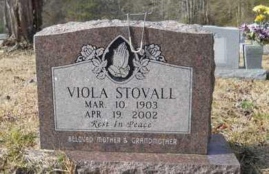 STOVALL, VIOLA - Webster County, Louisiana | VIOLA STOVALL - Louisiana Gravestone Photos