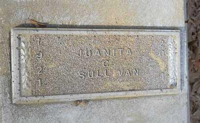 SULLIVAN, JUANITA C - Webster County, Louisiana | JUANITA C SULLIVAN - Louisiana Gravestone Photos