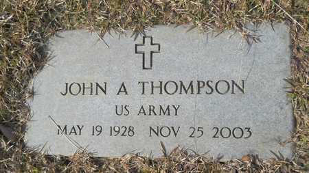 THOMPSON, JOHN A (VETERAN) - Webster County, Louisiana | JOHN A (VETERAN) THOMPSON - Louisiana Gravestone Photos