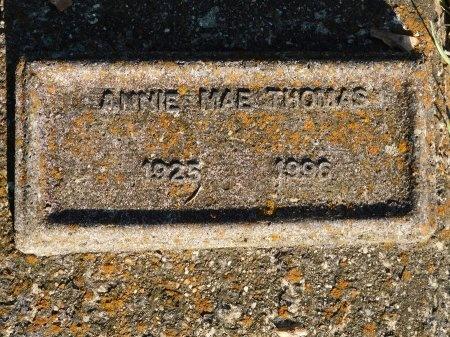 THOMAS, ANNIE MAE - Webster County, Louisiana   ANNIE MAE THOMAS - Louisiana Gravestone Photos