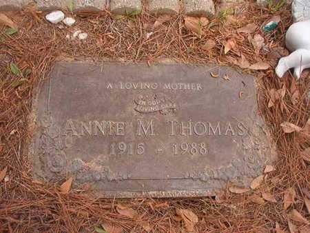 THOMAS, ANNIE M - Webster County, Louisiana | ANNIE M THOMAS - Louisiana Gravestone Photos