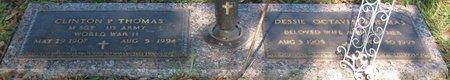 THOMAS, CLINTON P - Webster County, Louisiana | CLINTON P THOMAS - Louisiana Gravestone Photos