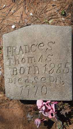 THOMAS, FRANCES - Webster County, Louisiana   FRANCES THOMAS - Louisiana Gravestone Photos