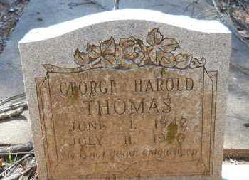 THOMAS, GEORGE HAROLD - Webster County, Louisiana   GEORGE HAROLD THOMAS - Louisiana Gravestone Photos