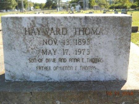 THOMAS, HAYWARD - Webster County, Louisiana | HAYWARD THOMAS - Louisiana Gravestone Photos