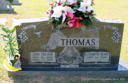 THOMAS, JOHN CHESTER - Webster County, Louisiana   JOHN CHESTER THOMAS - Louisiana Gravestone Photos