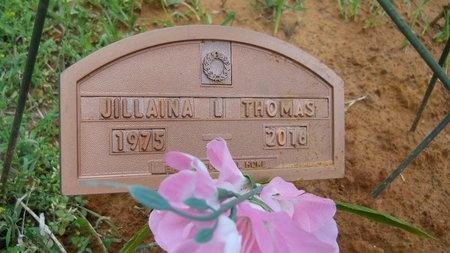 THOMAS, JILLAINA LOUISE (OBIT) - Webster County, Louisiana | JILLAINA LOUISE (OBIT) THOMAS - Louisiana Gravestone Photos