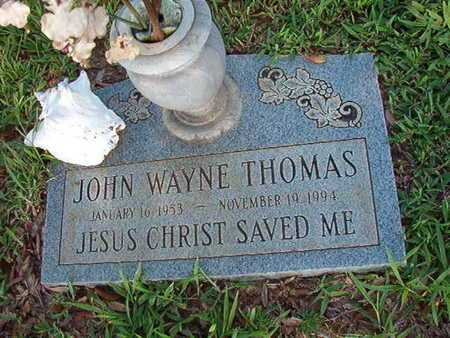 THOMAS, JOHN WAYNE - Webster County, Louisiana | JOHN WAYNE THOMAS - Louisiana Gravestone Photos