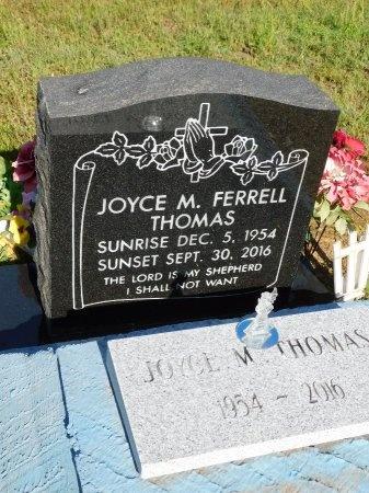 THOMAS, JOYCE M - Webster County, Louisiana | JOYCE M THOMAS - Louisiana Gravestone Photos