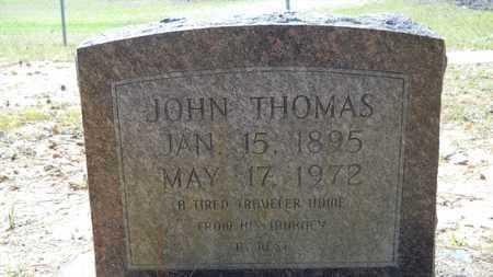 THOMAS, JOHN - Webster County, Louisiana | JOHN THOMAS - Louisiana Gravestone Photos
