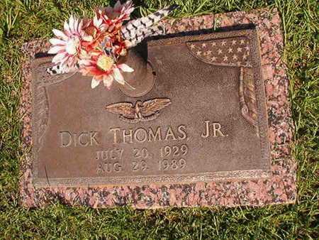 THOMAS, DICK, JR - Webster County, Louisiana | DICK, JR THOMAS - Louisiana Gravestone Photos