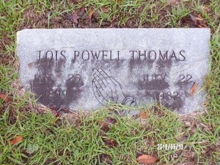 THOMAS, LOIS  - Webster County, Louisiana | LOIS  THOMAS - Louisiana Gravestone Photos