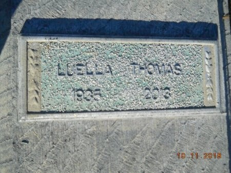 THOMAS, LUELLA - Webster County, Louisiana   LUELLA THOMAS - Louisiana Gravestone Photos